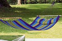 Гамак тканевый с подушкой на планках SJ-A20