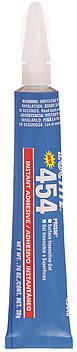 Клей цианоакрилатный моментальный для больших зазоров Loctite 454, 20 гр