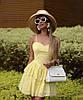 Літнє плаття з прошвы