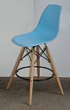 Полубарный стілець Nik Eames, блакитний, фото 4