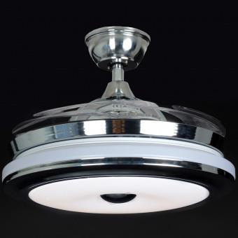 Люстра Вентилятор светодиодная SF-8816C CR