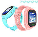 Детские Водонепроницаемые Умные Часы с gps DS-05 Pink, фото 7