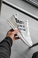 Кроссовки Adidas ZX RM White Camo (реплика ААА+), фото 1
