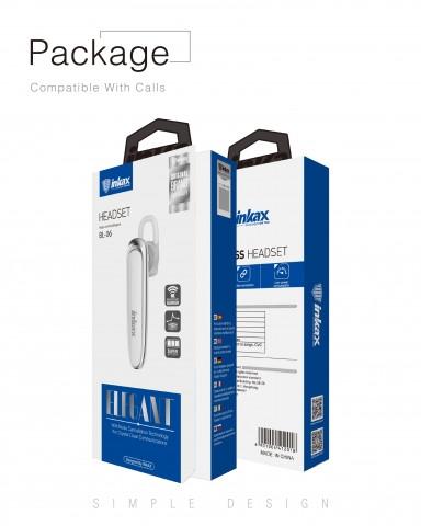 Bluetooth-гарнитура Inkax BL-06