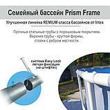 ✅Каркасный бассейн Intex 26702, 305 x 76 см (1 250 л/ч) + насос-фильтр, фото 4