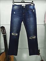 25039 Джинси синие рваные New Look