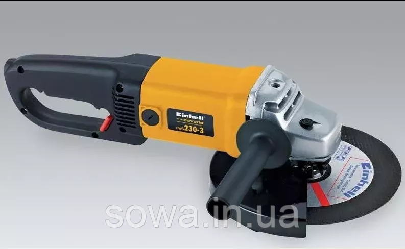 ✔️ Болгарка Einhell Bavaria BWS 230/3 ( 2000 Вт, 230 мм )  + ПОДАРОК