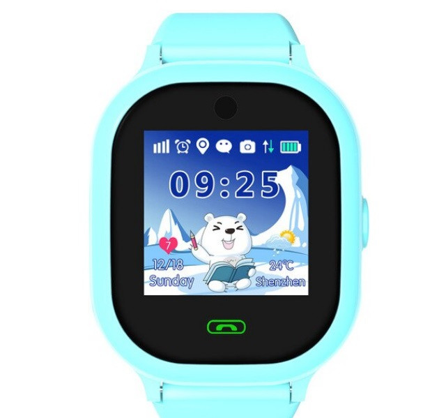 Детские Водонепроницаемые Умные Часы с gps DS-05 Blue