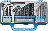 Сверла разные (металл/бетон/дерево), набор 34 шт. Top Tools 60H034.