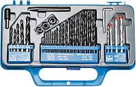 Сверла разные (металл/бетон/дерево), набор 34 шт. Top Tools 60H034., фото 1