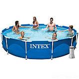 ✅Каркасный бассейн Intex 28212, 366 x 76 см (2 006 л/ч) + насос-фильтр, фото 2