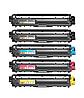 Набор из 5 сменных картриджей для принтеров Brother TN241 DCP-9015CDW DCP-9020CDW