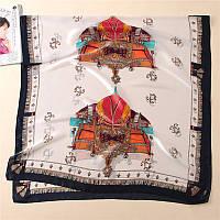 Шарф из натурального шелка летний платок