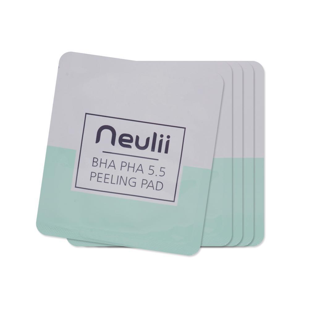 Пилинг-диск с BHA- и PHA-кислотами Neulii BHA PHA 5.5 Peeling Pad Sample