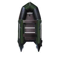 Надувная лодка пвх AquaStar К-400 RFD зеленая