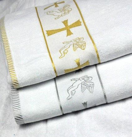 Полотенце для крещения махровое крыжма
