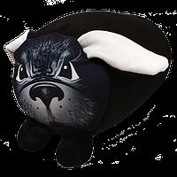 """Валик """"Пес Барбос"""" велюр, размер: 20*35 см"""