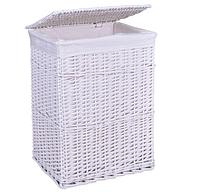 Плетеная корзина 60x40x30 KUFER 72л (белый)