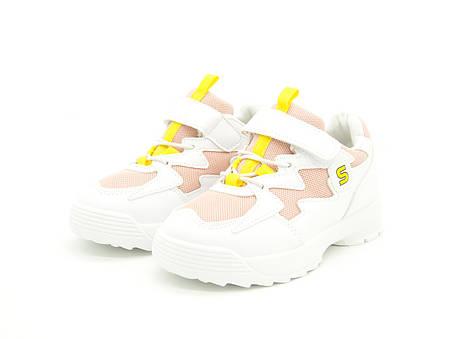 Кроссовки для девочки Белые Размеры: 30,31,32,33, фото 2