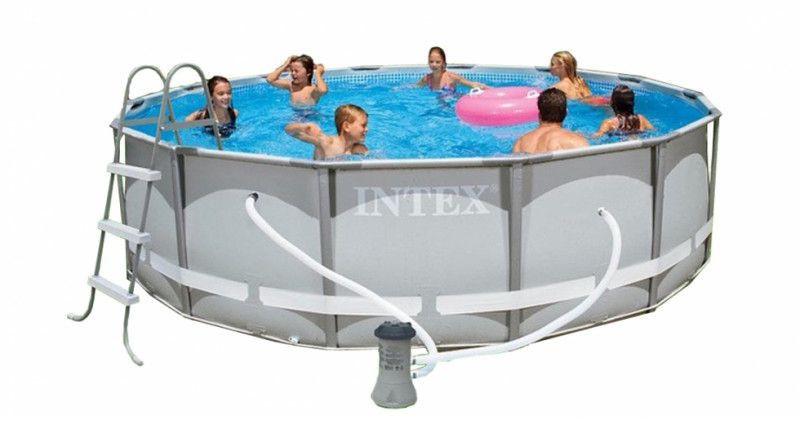 Каркасный бассейн Intex (26720 ) с фильтр-насосом 427х107 см