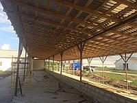 Строительство,ремонт и реконструкция ферм КРС,свиноферм.пром строений.с