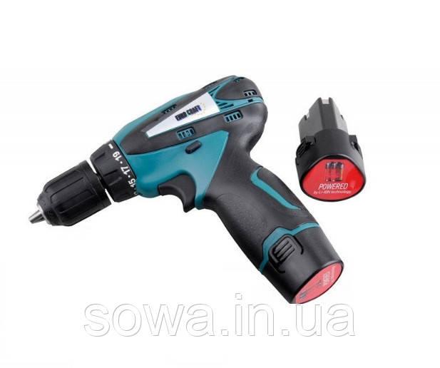 ✔️ Аккумуляторный шуруповерт Euro Craft ECCD222