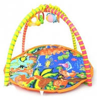 Игровой коврик для малышей с погремушками 813-4