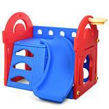 Детский игровой комплекс. Размер 105х100х101 см. M 5401-3-4, фото 2