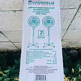 Вентилятор 40 Вт. С подсветкой. Grunhelm -1621, фото 6