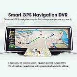 Панель с видеорегистратором DVR 08 T7 Android (JUNSUN E26) 3G WiFi GPS, две камеры, парковка, навигация, фото 2
