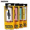 Внешний аккумулятор Remax E5 5000 mAh Power Bank Power Bank - Фото