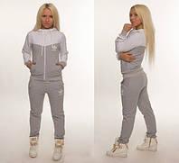 Женский батальный спортивный костюм с карманами  , фото 1