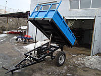 Прицеп тракторный 1ПТС-2 с тормозами (самосвальный, 2т.), фото 1