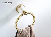 Кольцо для полотенца SANTEP 3604G Золото, фото 1