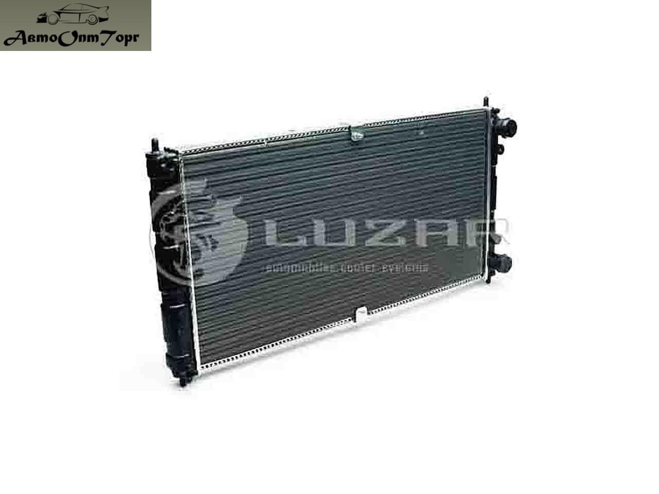 Радиатор охлаждения ВАЗ 2123 Нива-Chevrolet, кат. код: 2123-1301012, произ-во: Лузар LRC 0123