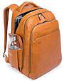 Рюкзак из кожи Piquadro CA3444B2S_N, черный, 30л, фото 2