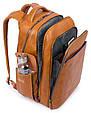 Рюкзак из кожи Piquadro CA3444B2S_N, черный, 30л, фото 4