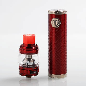 Стартовый набор Eleaf iJust 3 Kit  with ELLO Duro 6.5ml and 2ml Red