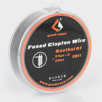Проволока для спирали GeekVape Kantal Fused Clapton Wire 0.5 мм + 0.5 мм * 0.2 мм 3 м
