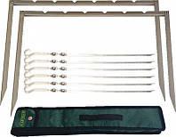 Мангал раскладной походный рамка ELEYUS TIRO 6 IBS