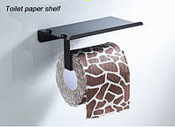Держатель для туалетной бумаги SANTEP 867LL Черный