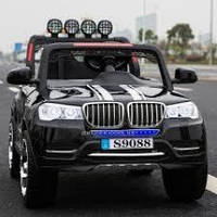Детский электромобиль джип БМВ BMW M 3118 EBLR-2 черный (белый,красный). Колеса EVA, 4 мотора, свет, MP3.
