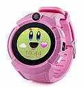 Детские умные часы с GPS Smart baby watch Q610S Pink, фото 4