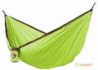 Одноместный туристический гамак La Siesta 'Colibri green' (CLH15-4)