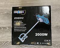 Миксер-дрель строительный Euro Craft ECID212, 2000 Вт Польша (миксер для клея, міксер будівельний ручний)
