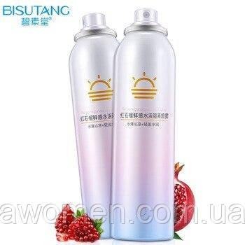 Увлажняющий солнцезащитный спрей Bisutang с экстрактом граната 150 ml