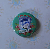 Значок с логотипом школы