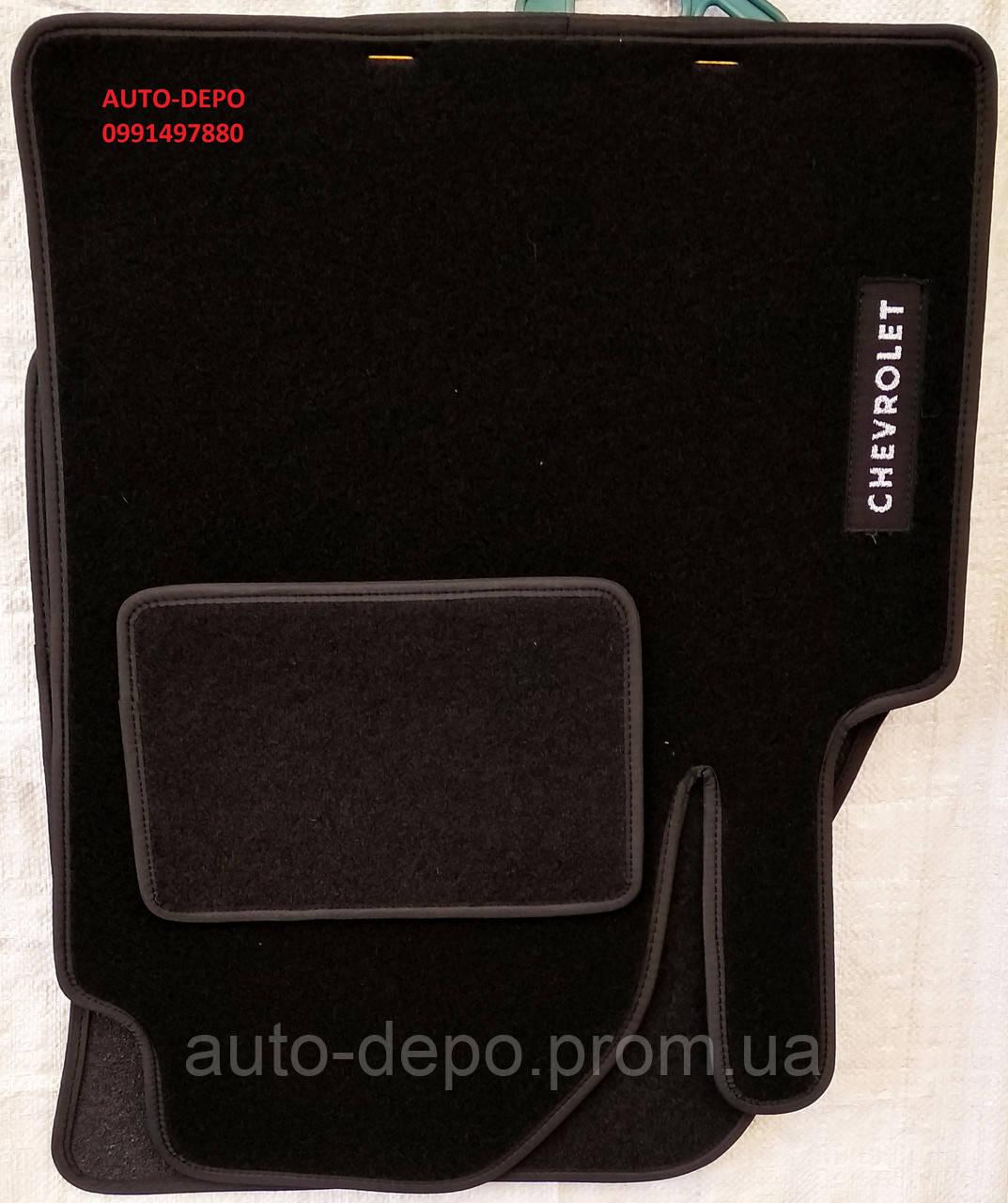 Ворсовые коврики Chevrolet Aveo 2011-
