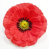"""Брошка """"Червоний мак"""" (діаметр 9,5 см), фото 1"""