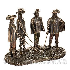 Статуетка Veronese Три Мушкетери 15х19 см 77394A4